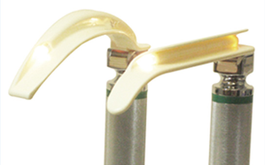Novalite Fiber Optic Green System Single Use Laryngoscope